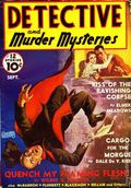 Detective and Murder Mysteries (1939 Ribbon Magazines) Pulp 2nd Series Vol. 1 #3