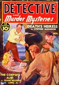 Detective and Murder Mysteries (1939 Ribbon Magazines) Pulp 2nd Series Vol. 1 #4