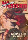 Fighting Western (1945-1950 Trojan Publishing) Pulp Vol. 1 #1