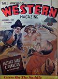Bill Wayne's Western Magazine (1942 Adam Publishing Co.) Pulp Vol. 1 #1