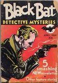Black Bat Detective Mysteries (1933-1934 Berryman Press) Pulp Vol. 1 #6