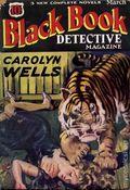 Black Book Detective Magazine (1933-1953 Newsstand/Hoffman/Ranger/Better) Pulp Vol. 2 #2