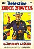 Detective Dime Novels (1940 Frank A. Munsey) Pulp Vol. 1 #1