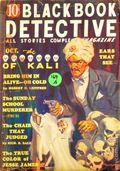 Black Book Detective Magazine (1933-1953 Newsstand/Hoffman/Ranger/Better) Pulp Vol. 6 #1