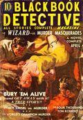 Black Book Detective Magazine (1933-1953 Newsstand/Hoffman/Ranger/Better) Pulp Vol. 6 #2