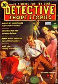 Detective Short Stories (1937-1947 Manvis Publications) Pulp Vol. 1 #1