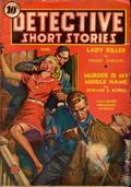 Detective Short Stories (1937-1947 Manvis Publications) Vol. 2 #5