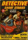 Detective Short Stories (1937-1947 Manvis Publications) Pulp Vol. 4 #4