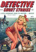 Detective Short Stories (1937-1947 Manvis Publications) Pulp Vol. 4 #6