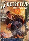 5-Detective Mysteries (1942-1943 Dell Publishing) Pulp Vol. 1 #2