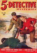 5-Detective Mysteries (1942-1943 Dell Publishing) Pulp Vol. 1 #3