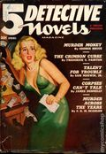 5 Detective Novels Magazine (1949-1953 Standard Magazines) Pulp Vol. 1 #3