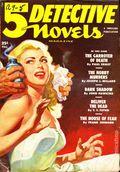 5 Detective Novels Magazine (1949-1953 Standard Magazines) Pulp Vol. 2 #2