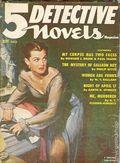 5 Detective Novels Magazine (1949-1953 Standard Magazines) Pulp Vol. 3 #3