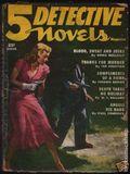 5 Detective Novels Magazine (1949-1953 Standard Magazines) Pulp Vol. 4 #1