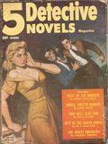5 Detective Novels Magazine (1949-1953 Standard Magazines) Pulp Vol. 4 #3