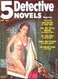 5 Detective Novels Magazine (1949-1953 Standard Magazines) Pulp Vol. 5 #1