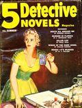 5 Detective Novels Magazine (1949-1953 Standard Magazines) Pulp Vol. 6 #1