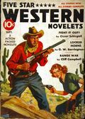 Five Star Western Novelets (1937 Blue Ribbon Magazines) Pulp Vol. 1 #5