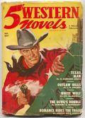 5 Western Novels Magazine (1949-1954 Standard Magazines) Pulp Vol. 1 #1