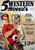 5 Western Novels Magazine (1949-1954 Standard Magazines) Pulp Vol. 1 #2