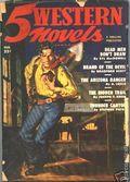 5 Western Novels Magazine (1949-1954 Standard Magazines) Pulp Vol. 1 #3