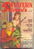 5 Western Novels Magazine (1949-1954 Standard Magazines) Pulp Vol. 2 #1