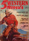 5 Western Novels Magazine (1949-1954 Standard Magazines) Pulp Vol. 2 #2