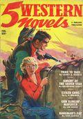 5 Western Novels Magazine (1949-1954 Standard Magazines) Pulp Vol. 3 #2