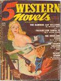 5 Western Novels Magazine (1949-1954 Standard Magazines) Pulp Vol. 3 #3