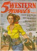 5 Western Novels Magazine (1949-1954 Standard Magazines) Pulp Vol. 4 #3