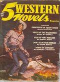 5 Western Novels Magazine (1949-1954 Standard Magazines) Pulp Vol. 5 #1