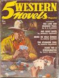 5 Western Novels Magazine (1949-1954 Standard Magazines) Pulp Vol. 5 #3
