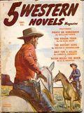 5 Western Novels Magazine (1949-1954 Standard Magazines) Pulp Vol. 7 #1