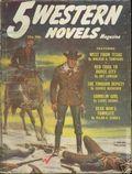 5 Western Novels Magazine (1949-1954 Standard Magazines) Pulp Vol. 7 #2
