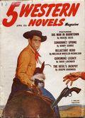 5 Western Novels Magazine (1949-1954 Standard Magazines) Pulp Vol. 7 #3