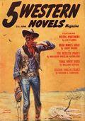 5 Western Novels Magazine (1949-1954 Standard Magazines) Pulp Vol. 8 #1