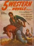 5 Western Novels Magazine (1949-1954 Standard Magazines) Pulp Vol. 8 #2
