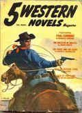 5 Western Novels Magazine (1949-1954 Standard Magazines) Pulp Vol. 8 #3