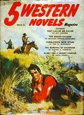 5 Western Novels Magazine (1949-1954 Standard Magazines) Pulp Vol. 9 #1