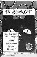 Black Cat (1895-1922 Shortstory) Pulp Vol. 20 #10