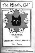 Black Cat (1895-1922 Shortstory) Pulp Vol. 21 #2