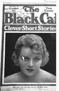 Black Cat (1895-1922 Shortstory) Pulp Vol. 23 #2