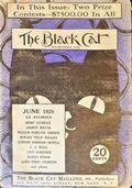 Black Cat (1895-1922 Shortstory) Pulp Vol. 25 #8