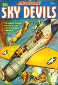 American Sky Devils (1942-1943 Manvis Publications) Pulp Vol. 1 #1