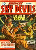 American Sky Devils (1942-1943 Manvis Publications) Pulp Vol. 1 #4