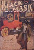 Black Mask (1920-1951 Pro-Distributors/Popular) Black Mask Detective Pulp Apr 1920