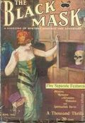 Black Mask (1920-1951 Pro-Distributors/Popular) Black Mask Detective Pulp Jun 1920