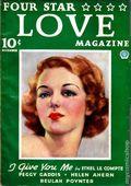 Four Star Love Magazine (1936-1937 Popular Publications) Pulp 1st Series Vol. 1 #1