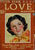 Four Star Love Magazine (1936-1937 Popular Publications) Pulp 1st Series Vol. 1 #2